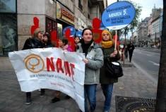 Sajtómeghívó – Néma Tanúk felvonulás és figyelemfelhívó programok a nők elleni erőszak ellen