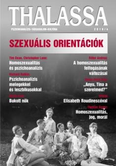 Megjelent a Thalassa pszichoanalitikus folyóirat