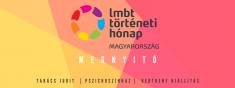 A 6. LMBT Történeti Hónap megnyitója